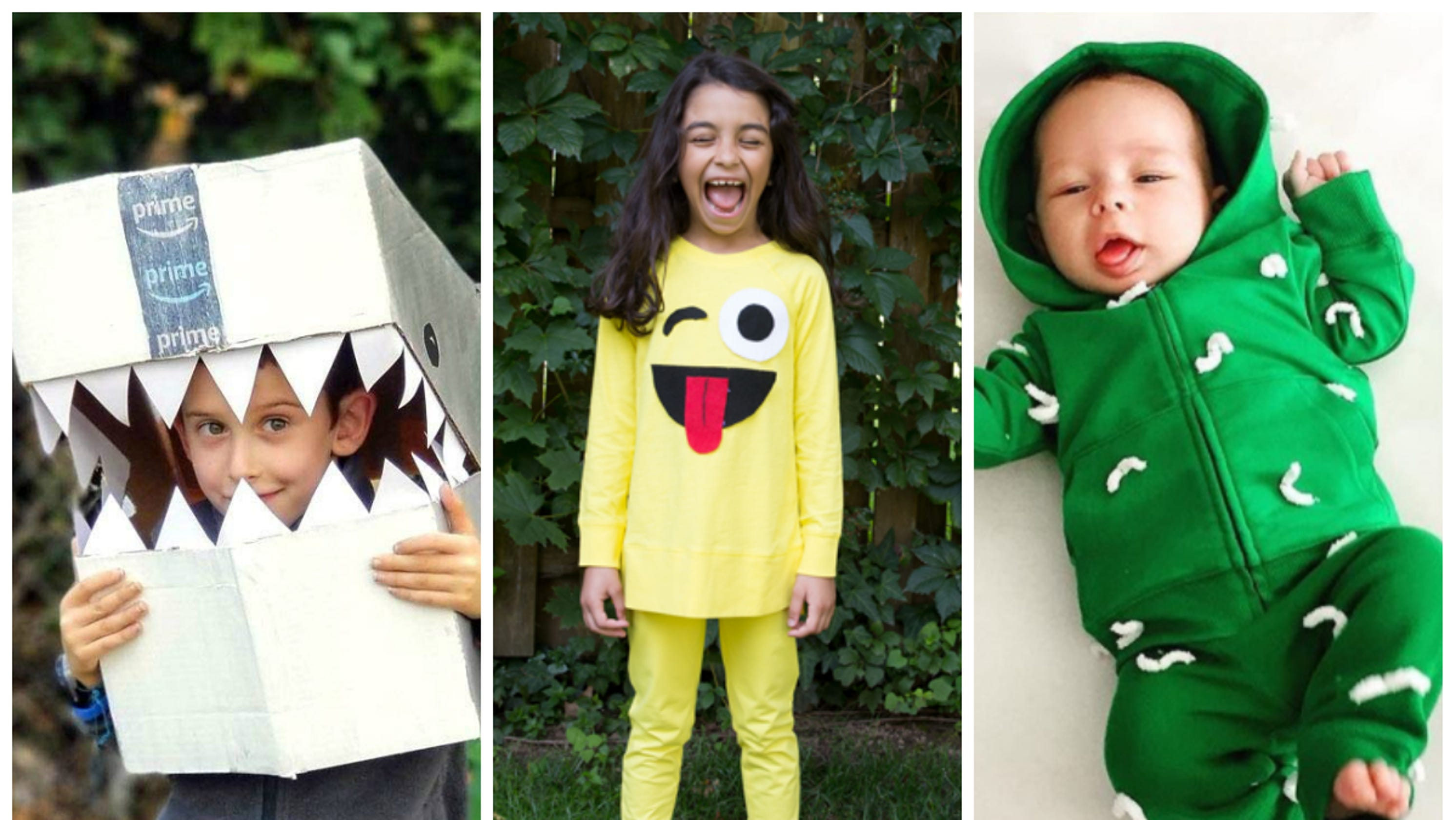 Easy last-minute Halloween costumes for kids and babies