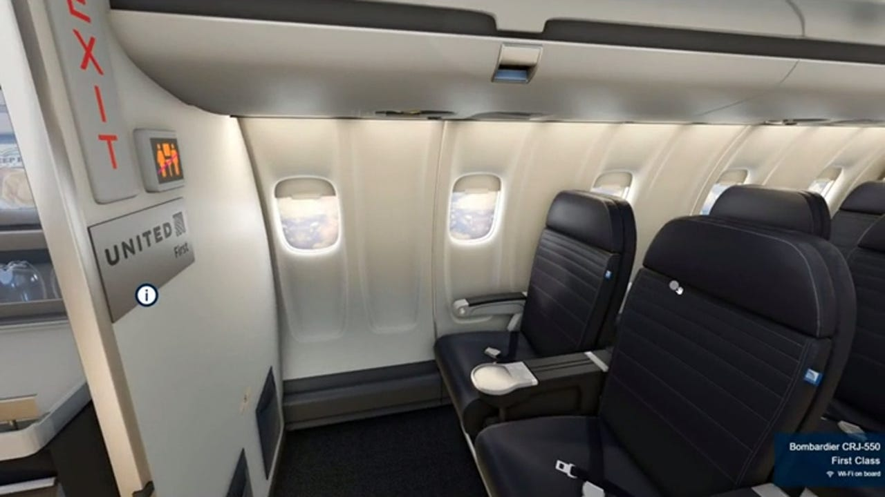 United Airlines Adding 3d Views Of Seats During Ticket Booking