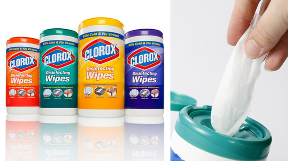 Clorox wipes kill most germs and allergens around your home.
