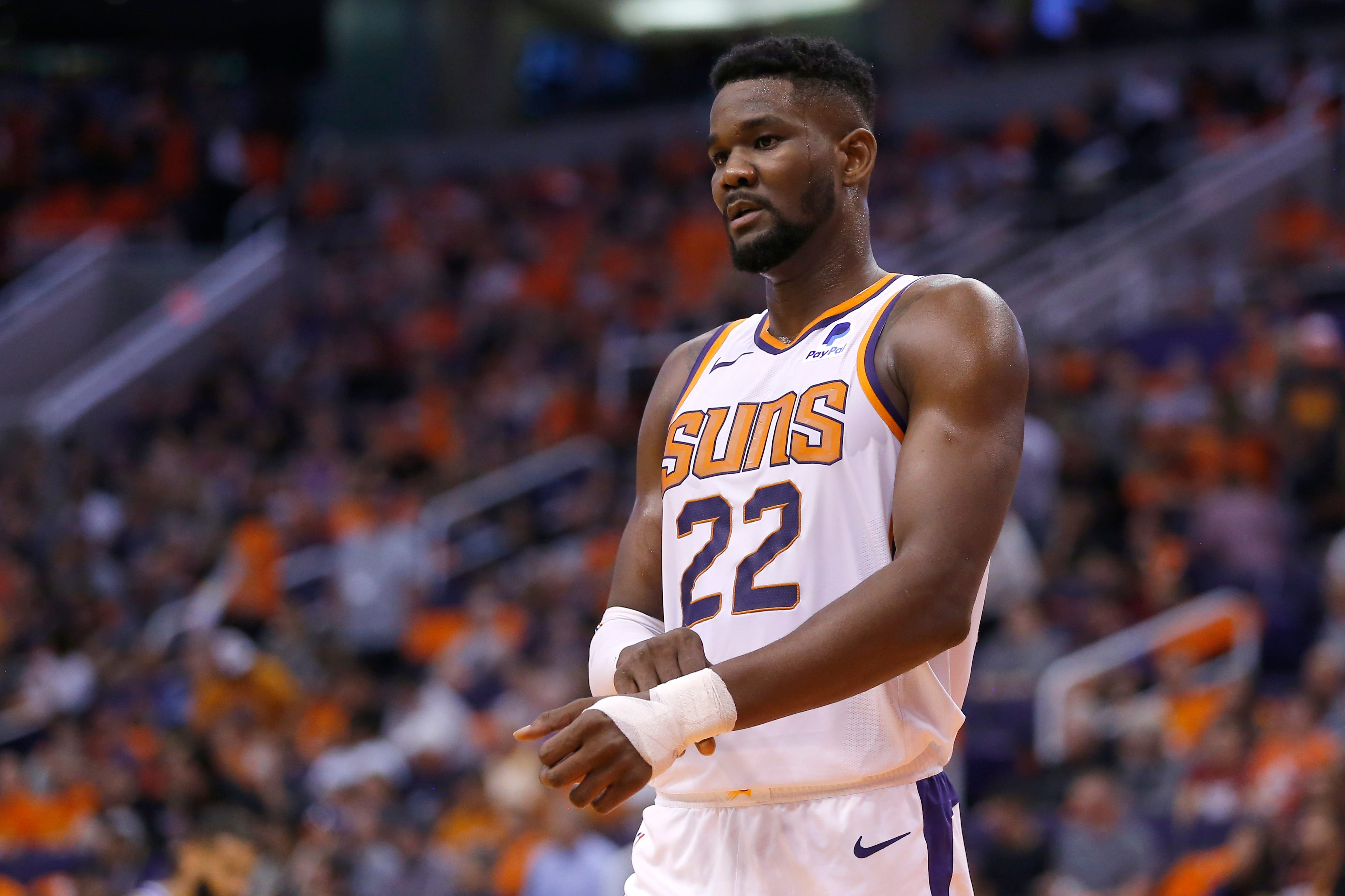 Suns  Deandre Ayton suspended 25 games for violating NBA anti-drug policy