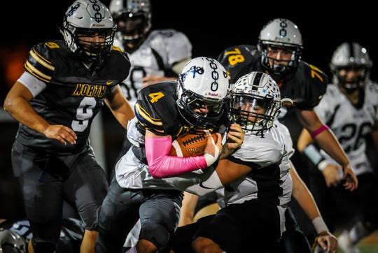 Toms River North hosts Toms River East in football at Toms River North High School on Oct. 25, 2019.
