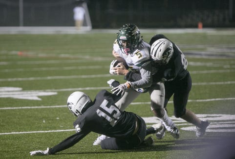 Reynolds defeated North Buncombe 54-6 on Oct. 25, 2019, at North Buncombe.