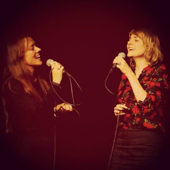The Lasses — aka singer-songwriters Sophie Janna and Margot Merah — perform Nov. 7 at the Treehouse Cafe on Bainbridge Island.