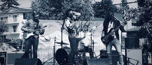 The Howling West are one of four bands playing the Poulsbo edition of the Gobblefest benefit concerts Nov. 2 at the Slippery Pig Brewery in Poulsbo.