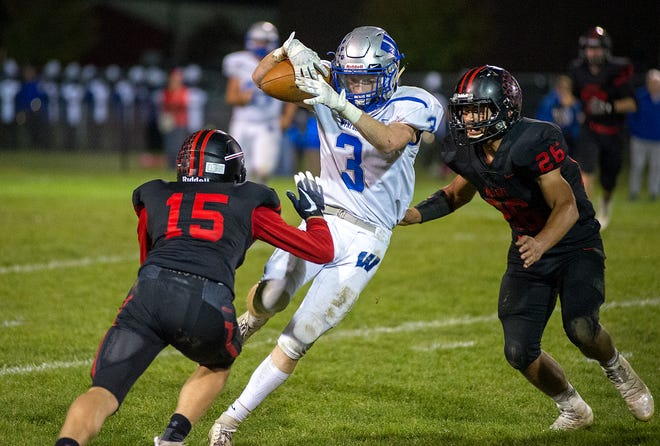 Wynford's Lucas Hackworth will look to go out with a bang in his final Battle for the Copper Kettle rivalry game.