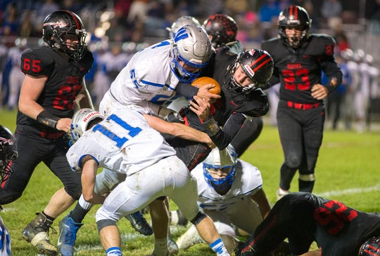 Wynford's Gavin Leffler and Cody Taylor each were named first team All-NW District.