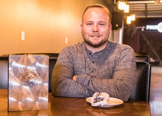 Local veteran Ben Daughters opened the Pour House in 2015 because he wanted to be a part of downtown revitalization.