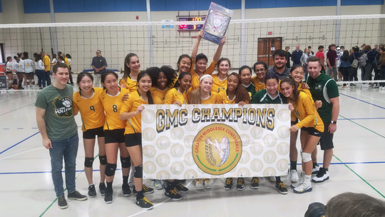The J.P. Stevens High School girls volleyball team won the 2019 Greater Middlesex Conference Tournament championship