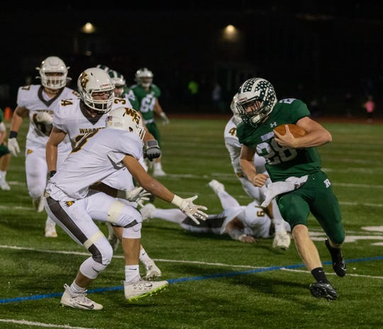 The Watchung Hills and Ridge high school football teams met Friday night at Lee Field.