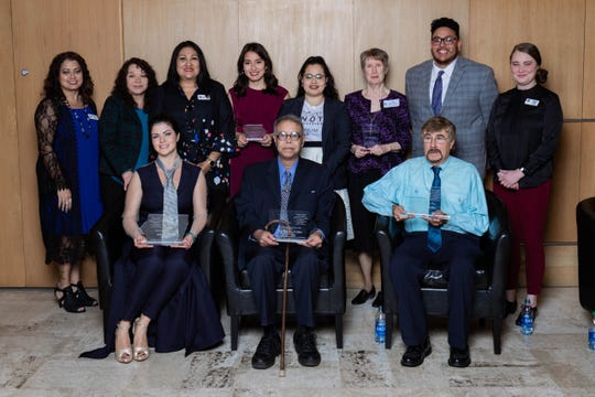 The Iowa Latino Hall of Fame inductees and award recipients of 2019.