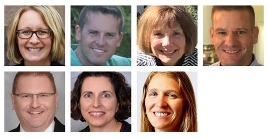 Indianola school board candidates The candidates Kim Gibson, Rob Keller, Donna Kreamer, Ben Metzger, Evan Schlomer, Sue Wilson and Kariann Voigts.