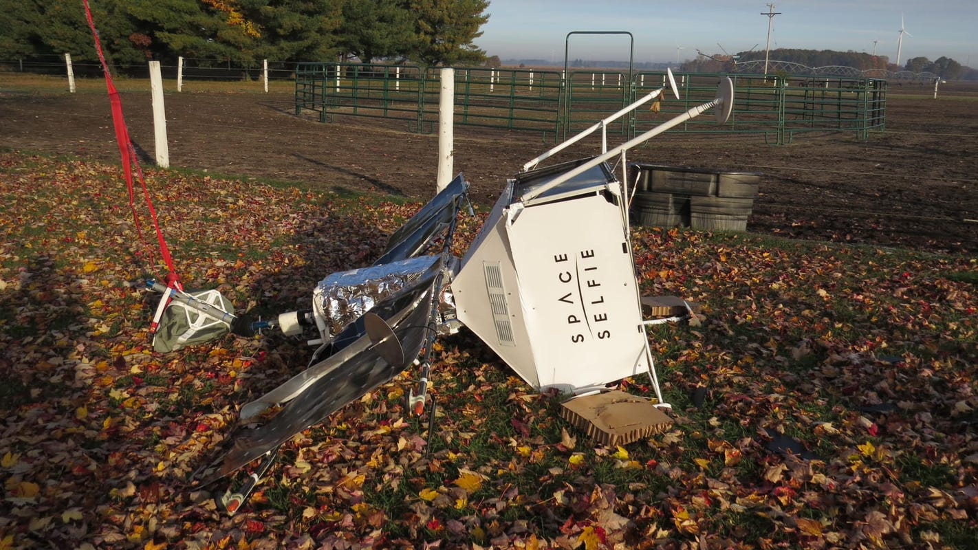 Samsung pseudo satellite falls out of the sky, lands in rural Michigan neighborhood