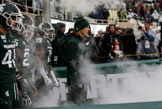 Mark Dantonio and the Spartans can become bowl eligible with a win over Maryland.