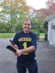 Andy Cahn created Michigan football's cowbell chant in 1989