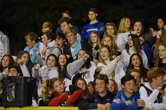 Christ Church hosted St. Joseph's in week 9 of Upstate high school football on Friday, Oct. 25, 2019.