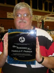 "Harold F. ""Hank"" Parker received a lifetime achievement award for his commitment to serving the Guam basketball community in 2008."