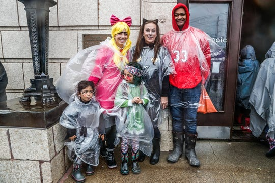 Halloween trick or treating will likely be wet this Oct. 31.