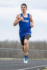 Waldron's Jacob James finished second at last week's Franklin cross-country regional.