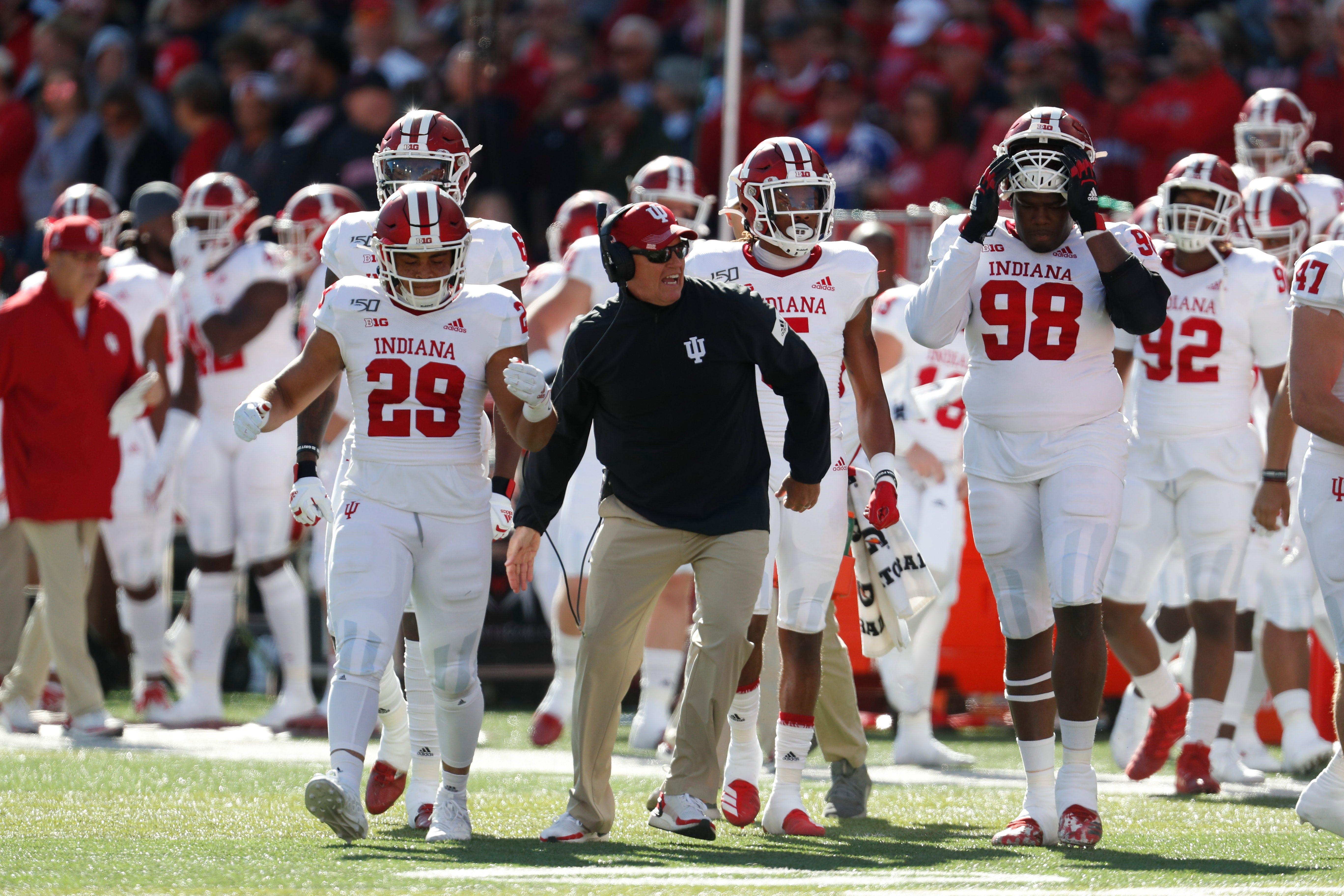 IU football coach Tom Allen sets up Penn State matchup
