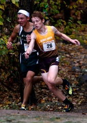 Berne Union freshman Hudson Schultz was the Mid-State League-Cardinal Division Runner of the Year.