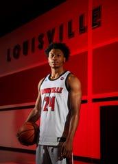 Dwayne Sutton, a Louisville native and Manual High graduate. before his redshirt senior season.