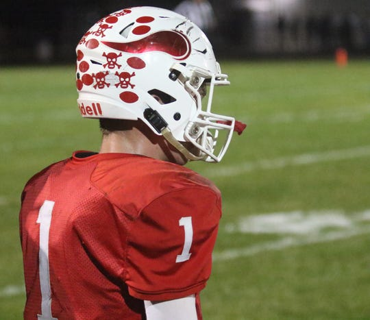 Plymouth's Walker Elliott led the Big Red to its first winning season since 2014 with a 7-3 mark.