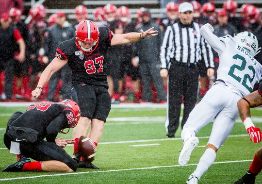 Ball State played Ohio at Scheumann Stadium Saturday, Oct. 26, 2019. Ohio defeated Ball State 34-21.