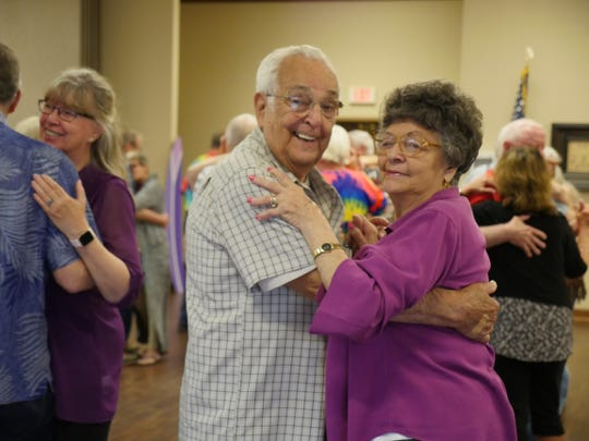 The Spring Dance is one of many events funded by the Licking County Aging Program.