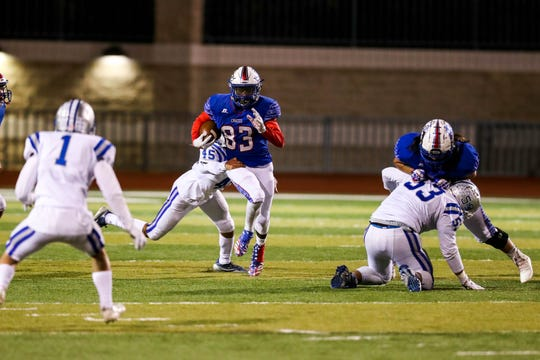 The Las Cruces Bulldawgs earned the No. 5 seed in the 6A state football tournament.
