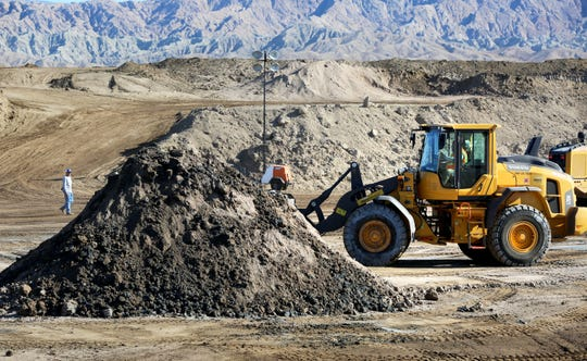 Mecca Remediation Facility is operated by Scape Group on leased Cabazon Band of Mission Indian land in Mecca, Calif., on Friday, October 25, 2019. MRF processes non-hazardous contaminated soil.