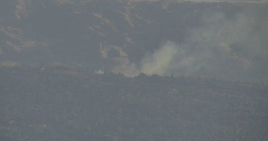 The Live Fire was reported Friday, Oct. 25, 2019, at San Timoteo Canyon Road and Live Oak Canyon Road.