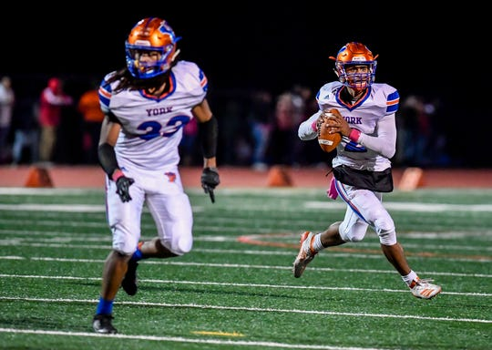 York High at Central York football, Friday October 25, 2019.