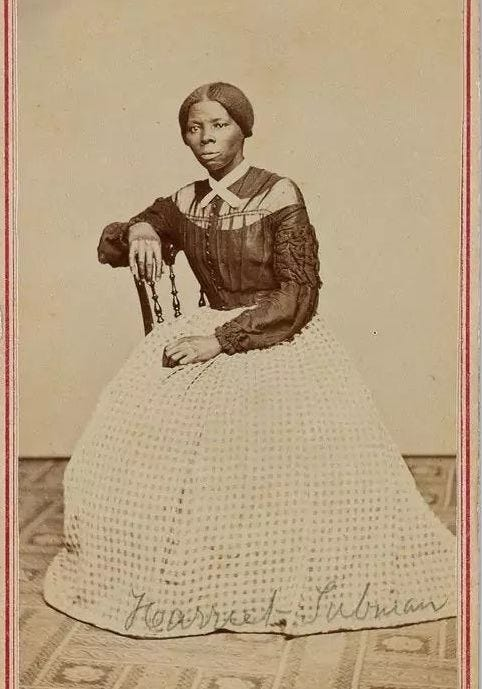 A previously undocumented photograph has emerged showing Harriet Tubman in her younger days.