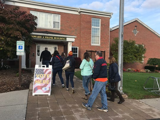 The Penfield Town Hall is one of the polling places for early voting.
