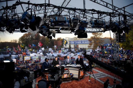 SDSU hosts ESPN's College GameDay on Saturday, Oct. 26, 2019 in Brookings, S.D.