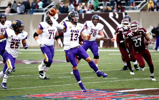 Northern Iowa quarterback Will McElvain has helped his team reel off four straight victories.