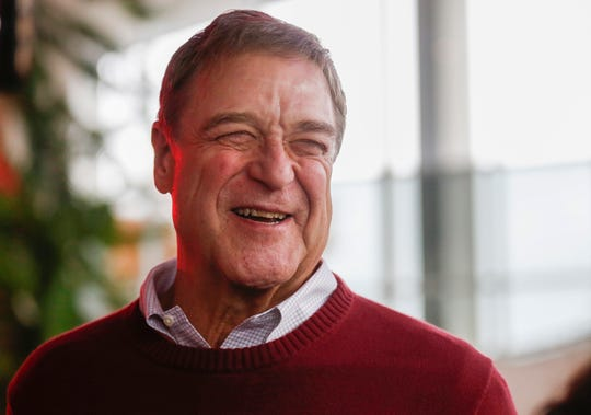 "Actor and Missouri State University alumnus John Goodman speaks with the News-Leader during the ""It's On!"" event at Juanita K. Hammons Hall on Saturday, Oct. 26, 2019."