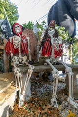 Dead pirates abound at the Sommers' home.