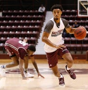 Josh Hall came in at No. 8 in our countdown of the top Missouri State basketball players entering the season.