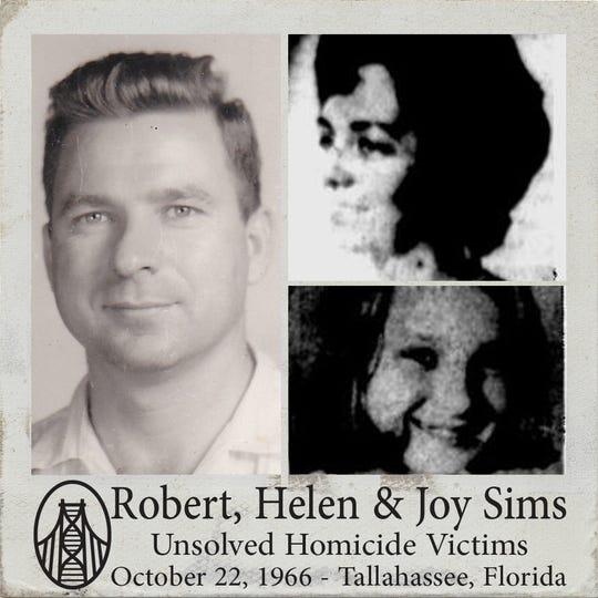 Robert, Helenand Joy Sims