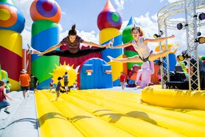 The Big Bounce America is stopping in Evans, Ga., this weekend as part of The Comeback Tour.