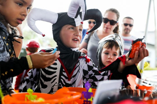 Instead of traditional trick-or-treating, children can collect Halloween candy from local businesses across the Treasure Coast.