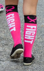 A Making Strides Against Breast Cancer walk was held on Saturday, October 26, 2019, at Stuart Memorial Park in downtown Stuart. The annual event seeks to raise awareness about the disease and provide support for those affected by it. It is also a major fundraiser for the American Cancer Society. There are many walks around the country, each one driven by the local community.