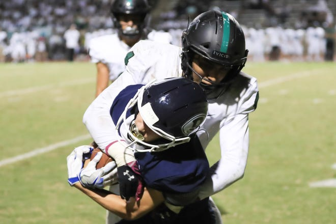 Redwood hosts El Diamante in a West Yosemite League High School Football game at Mineral King Bowl on Friday Oct 25th, 2019.