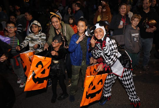 Scenes from the 18th annual Village of Tarrytown Halloween Parade, Oct. 26, 2019.