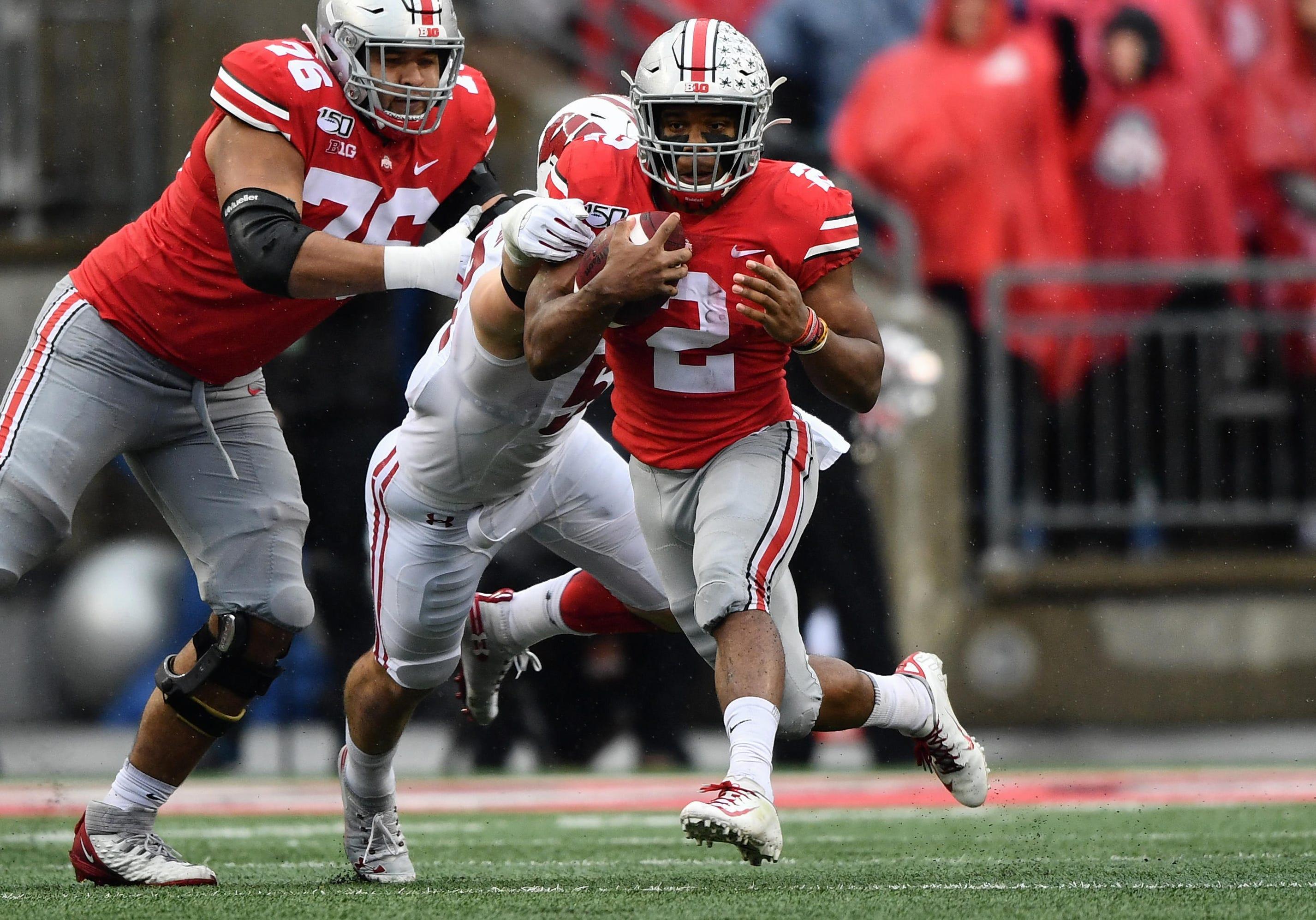 Ohio State J K Dobbins Dominate Wisconsin In Big Ten Showdown