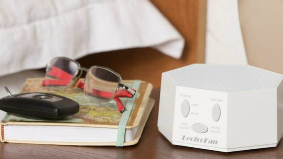 Drown out the outside world and fall asleep easier with the LectroFan.