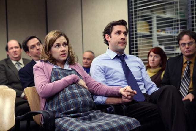 "Watching characters find love has always been one of the best parts of TV. Here are small-screen couples whose romances made us say, ""Aww,"" from our living rooms. First up, it's Jim and Pam, whose adorable workplace romance on ""The Office"" made us believe in love again."