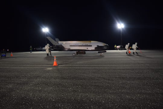 X-37B spaceplane returned to Earth after 780 days in orbit