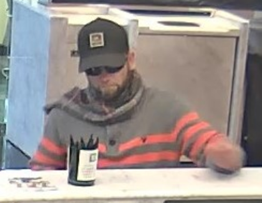 Police were seeking this man in connection with the robbery Saturday of a TD Bank in Stratford.